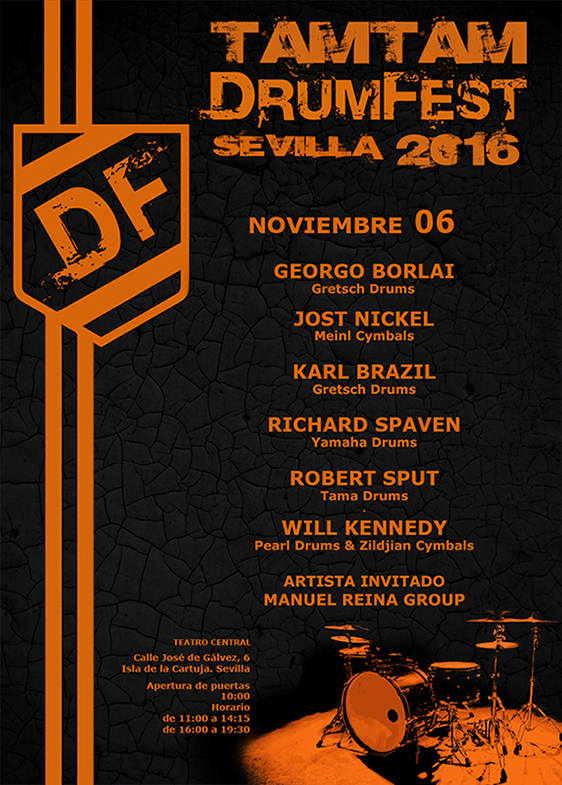 Tam Tam DrumFest Sevilla 2016