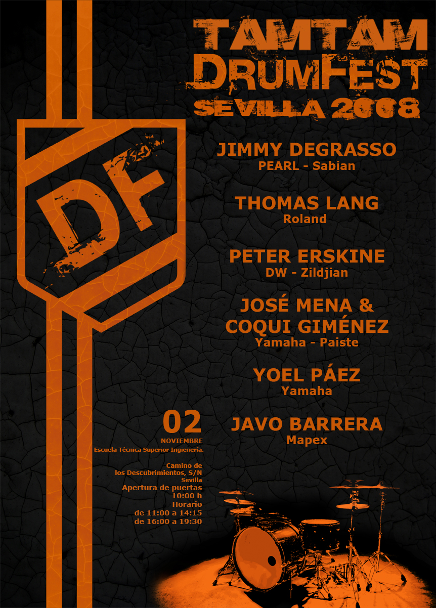 TamTam DrumFest Sevilla 2008