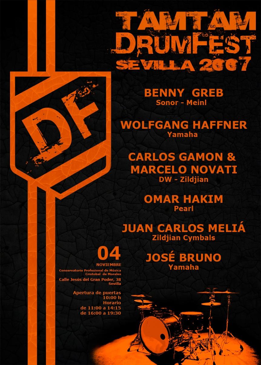 TamTam DrumFest Sevilla 2007