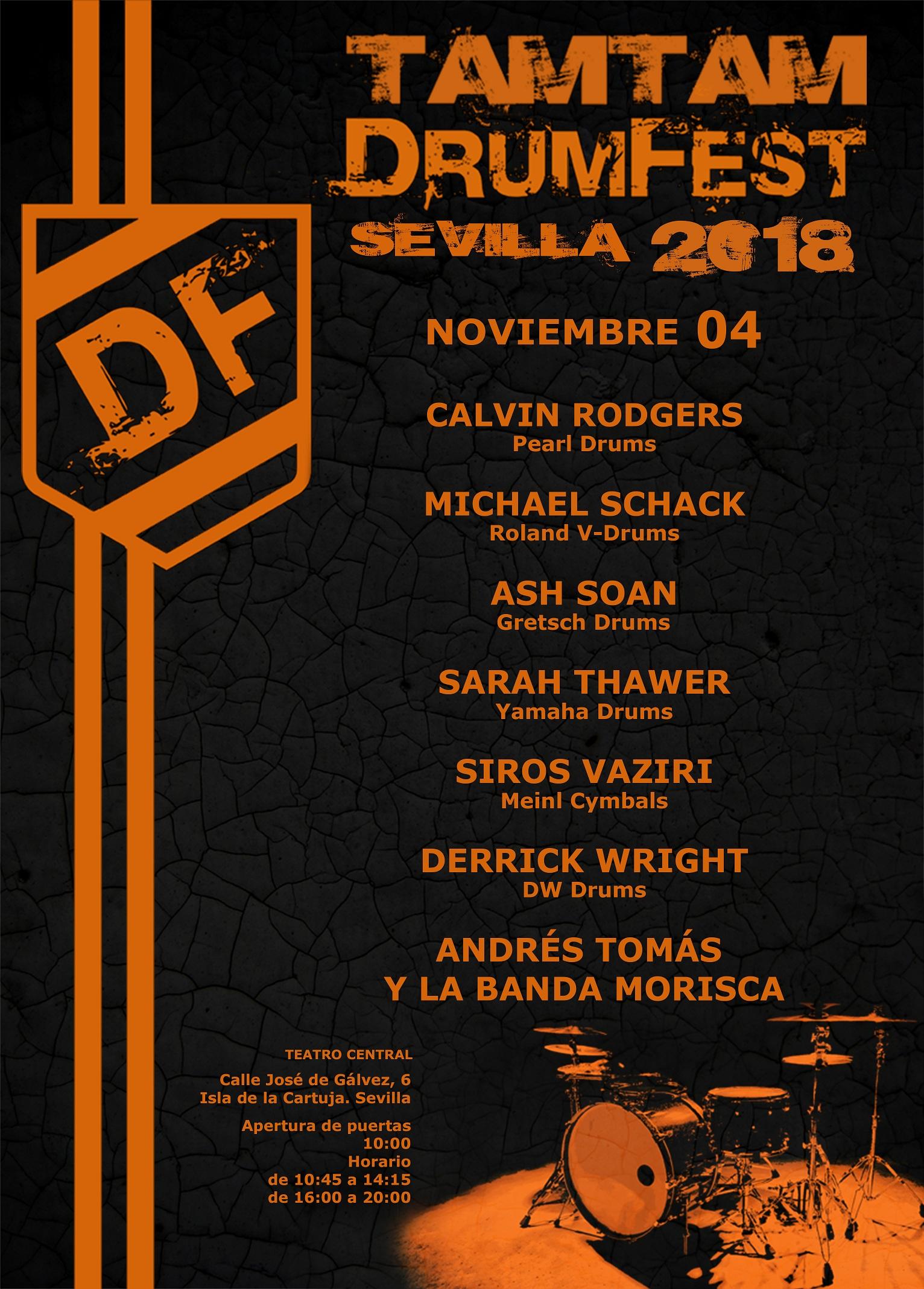 TamTam DrumFest Sevilla 2018