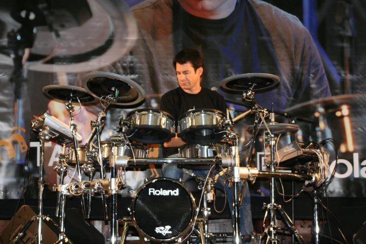Johnny Rabb Roland V-Drums Tour 2009