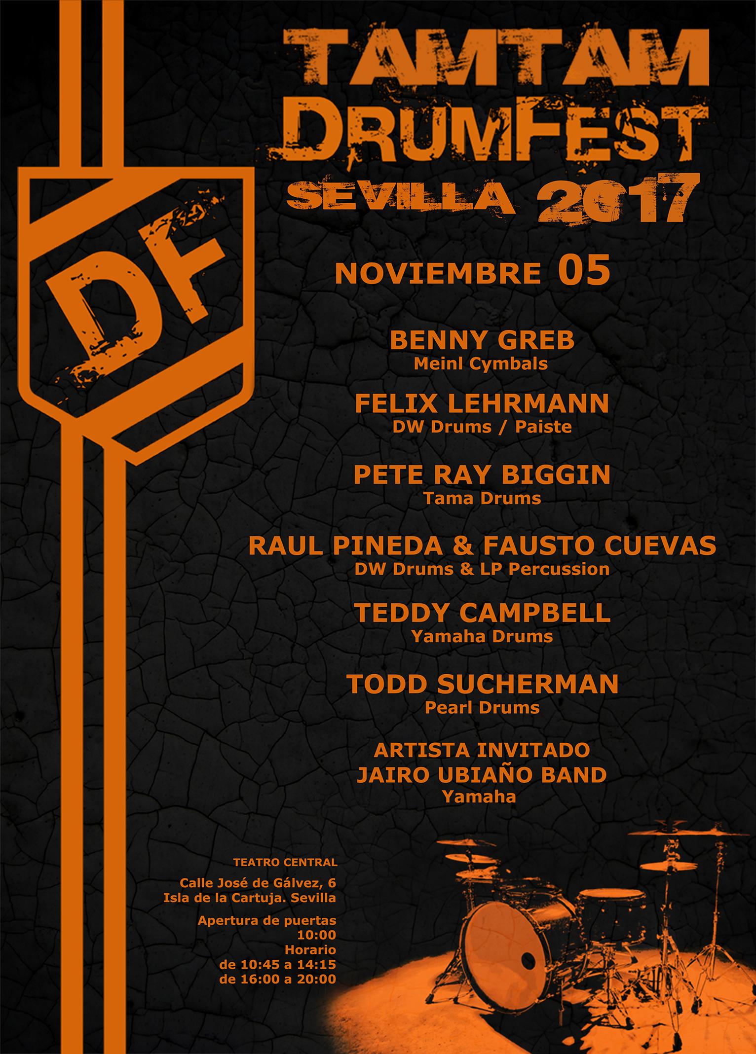 TamTam DrumFest Sevilla 2017
