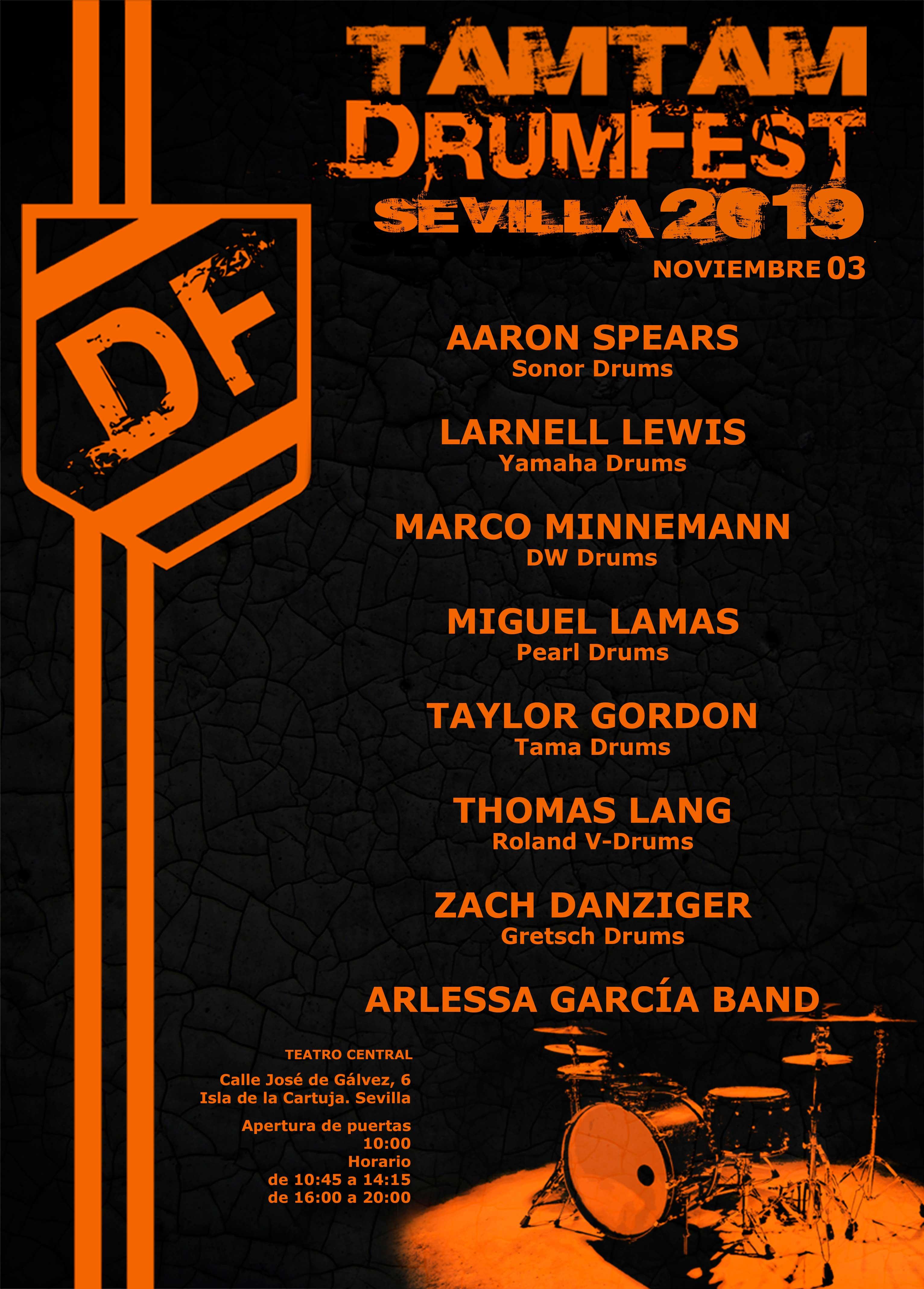 TamTam DrumFest Sevilla 2019