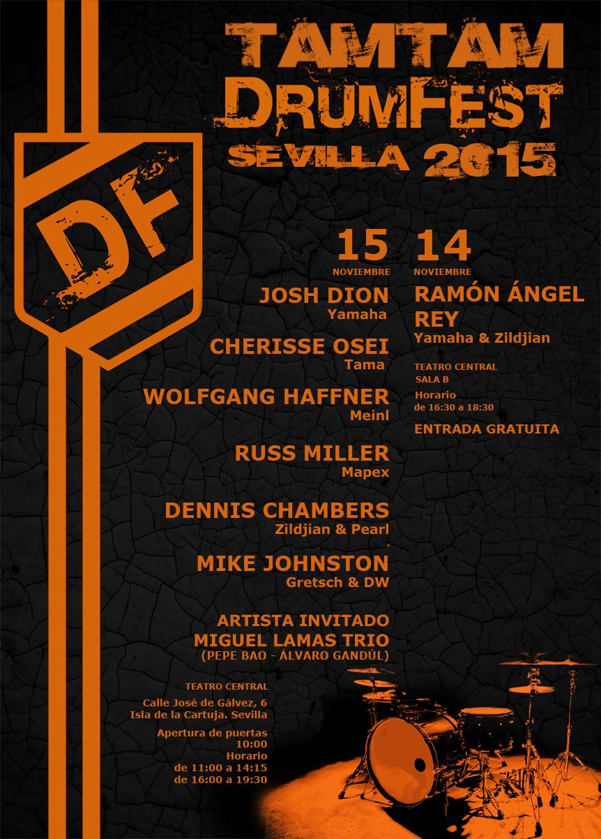 TamTam DrumFest Sevilla 2015