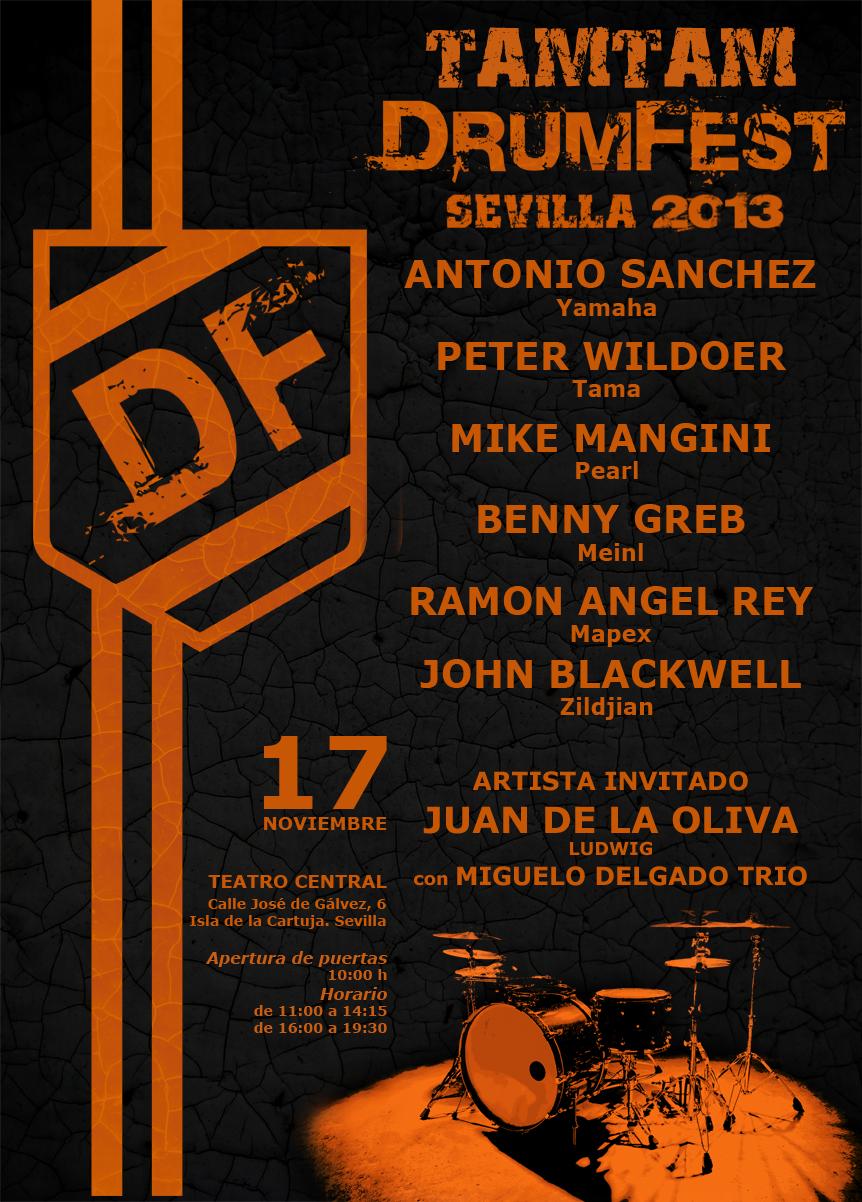 TamTam DrumFest Sevilla 2013