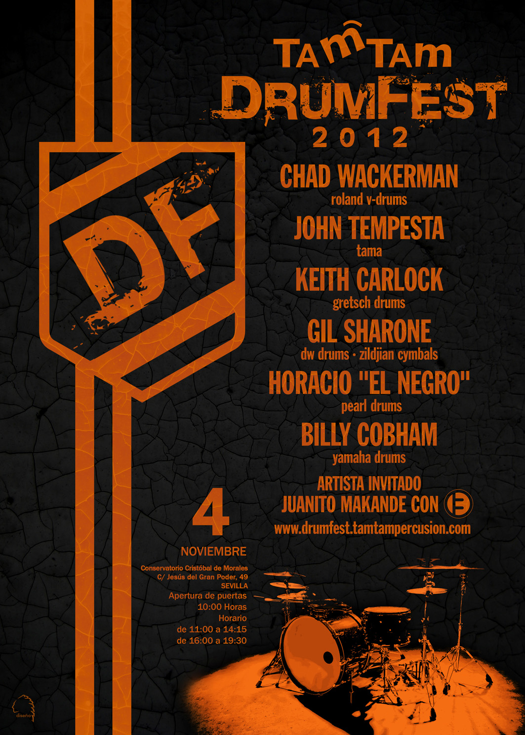TamTam DrumFest Sevilla 2012