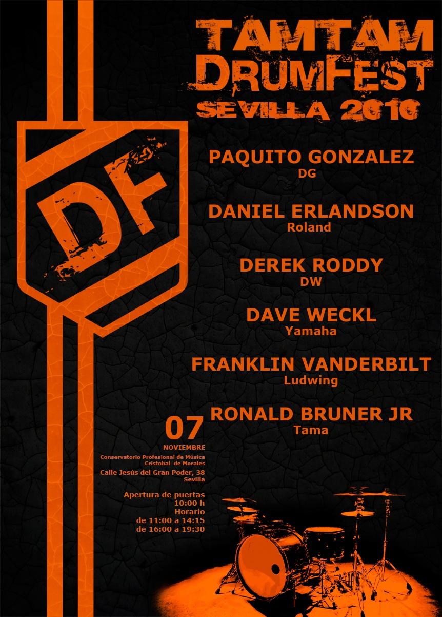 TamTam DrumFest Sevilla 2010